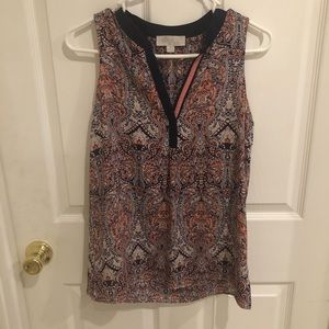 Olive and oak woman's tank